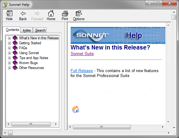 Sonnet Software